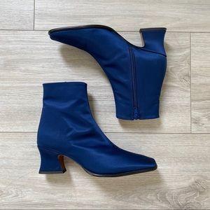 BY FAR Naomi Italian Silk Boots